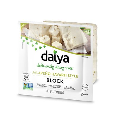 Daiya Dairy Free Jalapeno Havarti Style Block