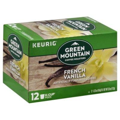 Green Mountain Coffee French Vanilla Light Roast Coffee K-Cups