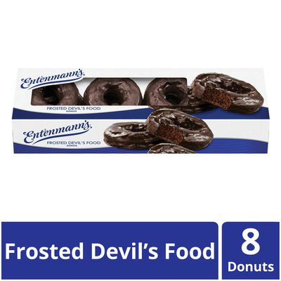Entenmann's Frosted Devil's Food Donuts
