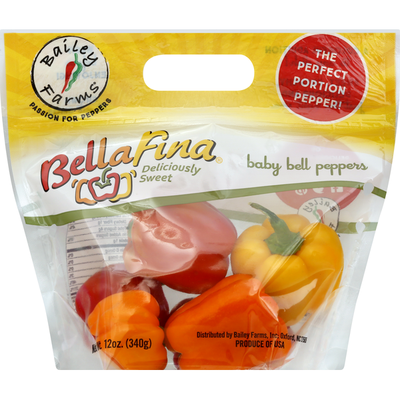 Bailey Farms Bell Peppers, Baby, BellaFina