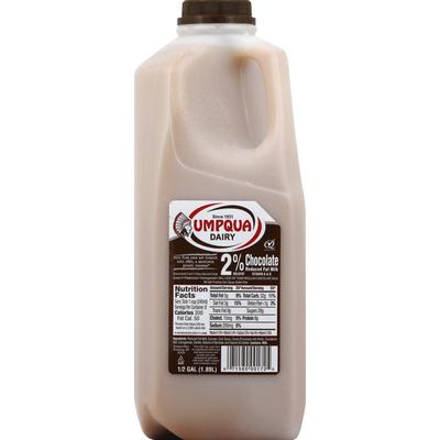 Umpqua Milk, Reduced Fat, Chocolate, 2% Milkfat