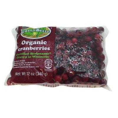 Green Belle Organic Cranberries