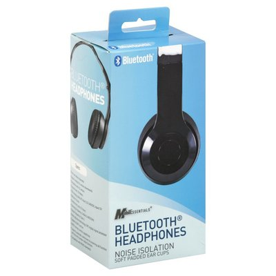Mobilessentials Headphones, Bluetooth, Noise Isolation