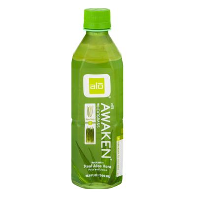 ALO Drink, Awaken, Aloe Vera + Wheatgrass