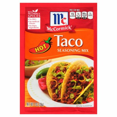 McCormick®  Hot Taco Seasoning Mix