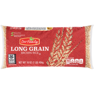 Our Family Long Grain Brown Rice