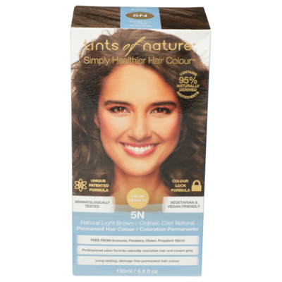 Tints Of Nature Natural Light Brown Permanent Hair Color