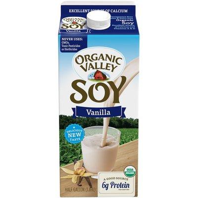 Organic Valley 64 oz UHT Vanilla Soy Beverage