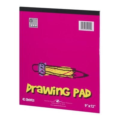 "Roaring Springs Roaring Spring Drawing Pad 9""x12"" - 40 Sheets"