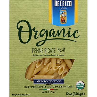 De Cecco Penne Rigate No. 41, Organic