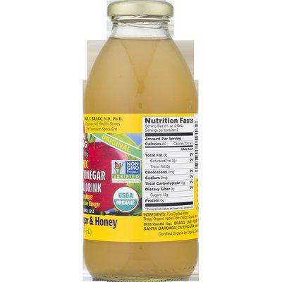 Bragg Vinegar, Organic, Apple Cider, Honey, Original