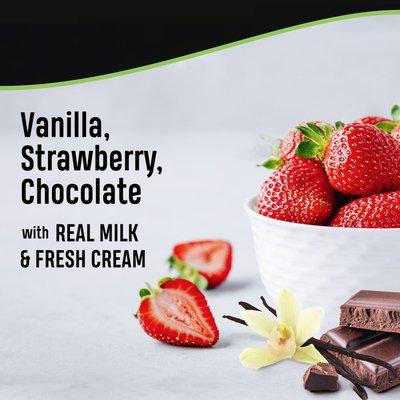 Breyers Ice Cream Vanilla Chocolate Strawberry