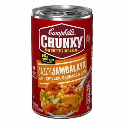 Campbell's® Chunky® Jambalaya with Chicken, Sausage & Ham