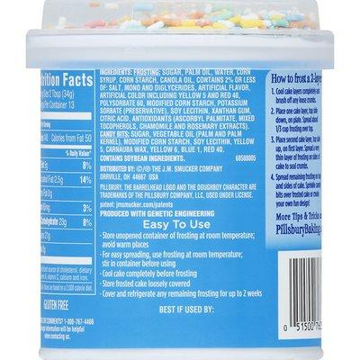 Pillsbury Funfetti Vanilla Frosting