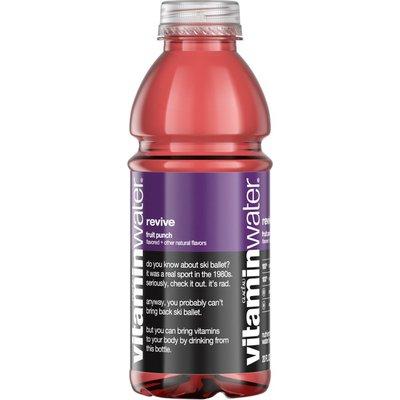 Glaceau Vitaminwater Vitaminwater Revive Fruit Punch