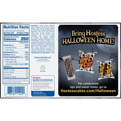 Hostess Halloween Chocolate Cake Twinkie