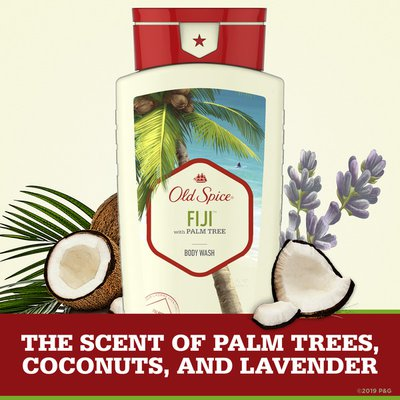 Old Spice Body Wash For Men Fiji With Palm Tree Scent, Inspired By Nature