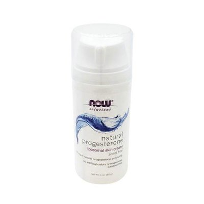 Now Natural Progesterone Balancing Skin Cream, Unscented
