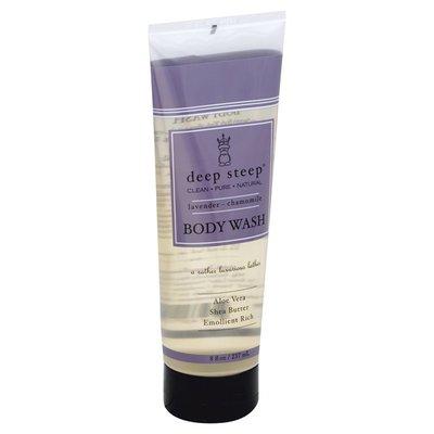 Deep Steep Body Wash, Lavender-Chamomile