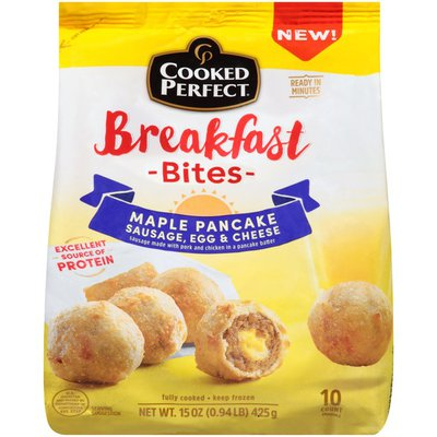 Cooked Perfect Maple Pancake Breakfast Bites