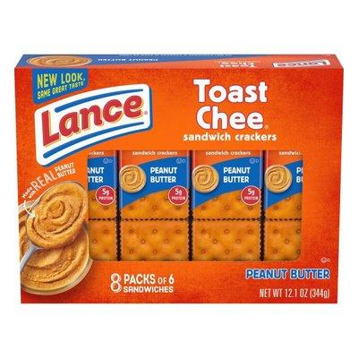 Lance® ToastChee Peanut Butter Sandwich Crackers
