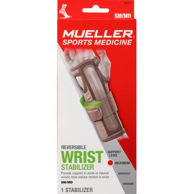 Mueller Wrist Stabilizer, Reversible, Maximum, Small/Medium