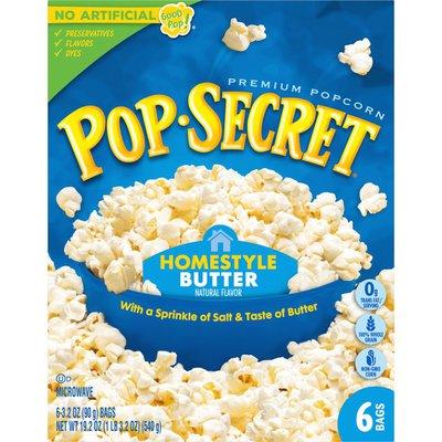 Pop Secret Homestyle Microwave Popcorn