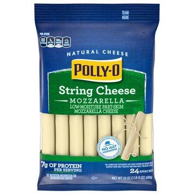 Polly-O String Cheese Mozzarella Cheese Snacks