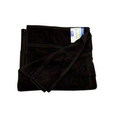 Interiors by Design Black Bath Towel