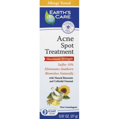 Earth's Care Acne Spot Treatment, Maximum Strength