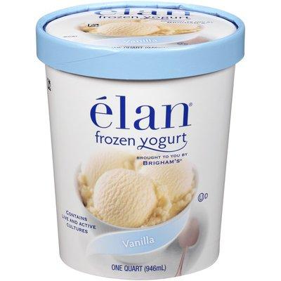 Elan élan Vanilla Frozen Yogurt