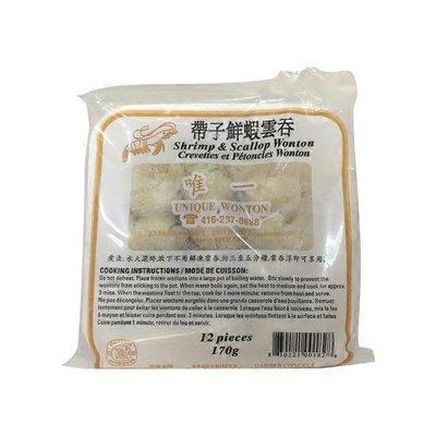Unique Scallop Shrimp Wonton