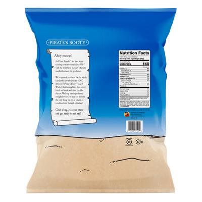 Pirate Brands Aged White Cheddar Non-GMO