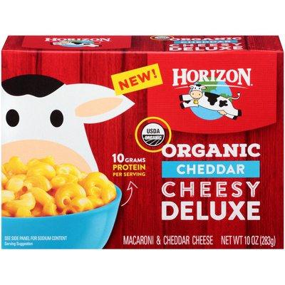 Horizon Organic Organic Cheddar Cheesy Deluxe Macaroni & Cheese