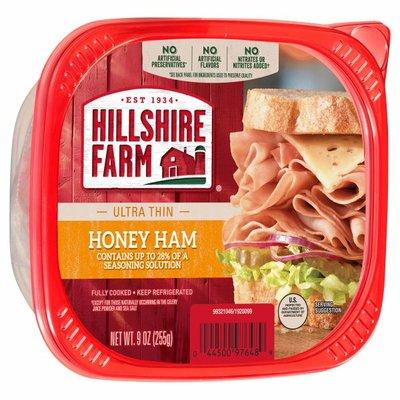 Hillshire Farm Ultra Thin Sliced Lunchmeat, Honey Ham