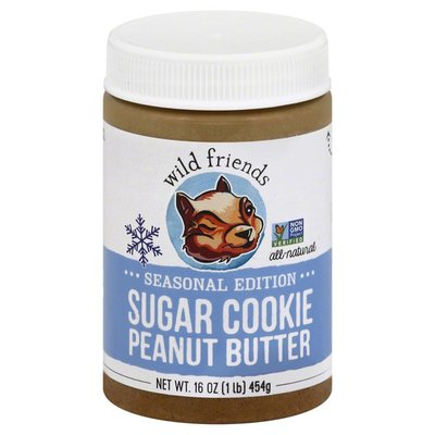Wild Friends Peanut Butter, Sugar Cookie