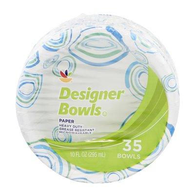 SB Designer Paper Bowls - 35 CT