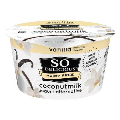So Delicious Dairy Free Vanilla Coconut Milk Yogurt