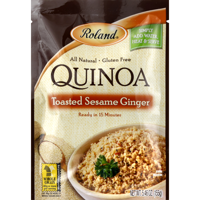 Roland Foods Quinoa, Toasted Sesame Ginger