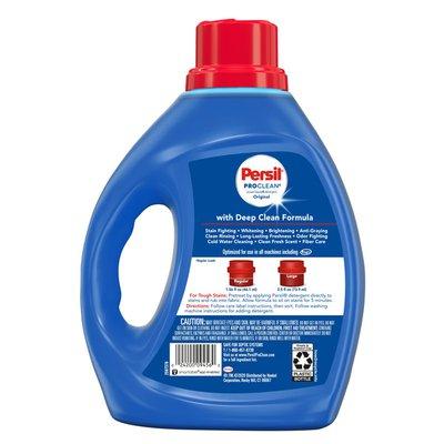 Persil ProClean Liquid Laundry Detergent, Original Scent, 64 Loads