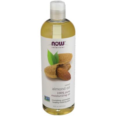 Now Moisturizing Oil, Sweet Almond Oil, 100% Pure