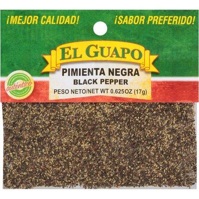 El Guapo® Ground Black Pepper (Pimienta Negra Molida)