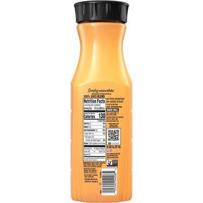 Simply Smoothies Mango Pineapple Juice 100 Bottle
