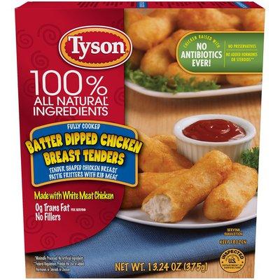 Tyson Batter Dipped Chicken Breast Tenders, Frozen