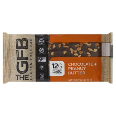 The GFB Bar, Gluten Free, Chocolate + Peanut Butter