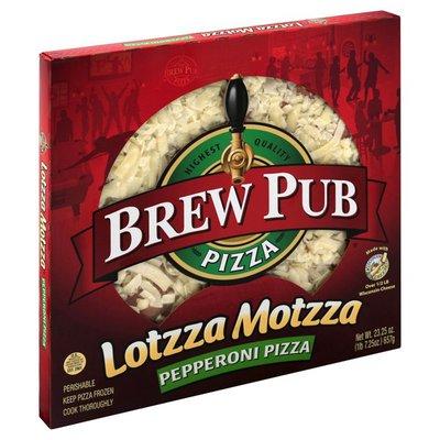 Brew Pub Pizza Pizza, Pepperoni