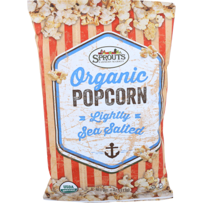 Sprouts Organic Lightly Salted Popcorn