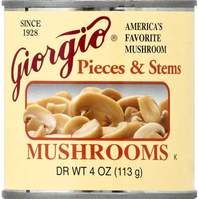Giorgio Pieces & Stems Mushrooms