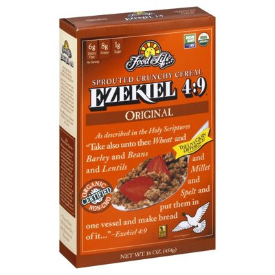 Food for Life Ezekiel 4:9 Sprouted Grain Crunchy Cereal Original
