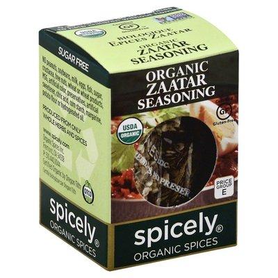 Spicely Organics All Natural Zaatar Seasoning